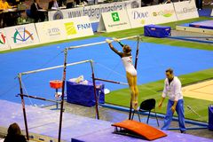 2008 storslagna gymnastiska milan prix Royaltyfria Bilder
