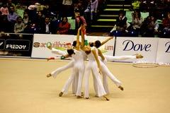 2008 storslagna gymnastiska milan prix Arkivfoton