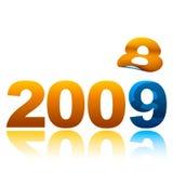 2008 tot 09 Royalty-vrije Stock Fotografie
