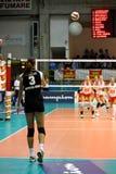 2008 tout le volleyball de décharge d'étoile de jeu Image libre de droits