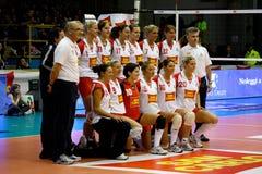 2008 tout le volleyball de décharge d'étoile de jeu Image stock