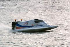 2008 U.I.M. F1 Powerboat World Championship. 6th Grand Prix of Russia. St. Petersburg, Neva River, 14th of June, 2008 Stock Image