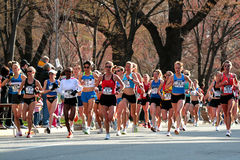 2008 US Women's Olympic Marathon Trials, Boston Stock Image