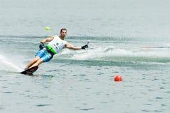 2009个杯子人putrajaya障碍滑雪waterski世界 免版税图库摄影