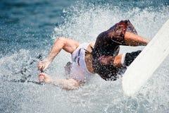 2009个杯子人putrajaya shortboard waterski世界 免版税库存照片