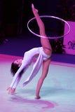 2009个杯子图体操pesaro节奏性世界 库存照片