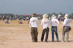 2009个气球节日国际pattaya 库存照片