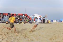 2009个海滩杯子最终世界 图库摄影