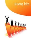 2009企业 免版税库存图片