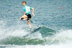 2009名杯子putrajaya shortboard waterski妇女世界 图库摄影