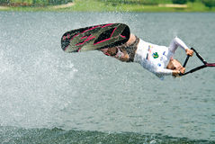 2009名杯子putrajaya shortboard waterski妇女世界 免版税库存图片