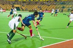 2009年亚洲决赛曲棍球人s 库存照片