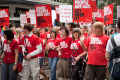 2009年伦敦自豪感 免版税库存照片
