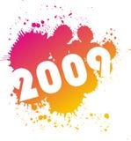 2009年例证 库存例证