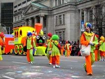 2009年克劳斯游行圣诞老人多伦多 库存图片