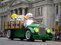 2009年克劳斯游行圣诞老人多伦多 免版税库存图片