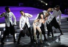 2009年北京音乐会卡伦mok 库存图片
