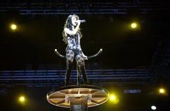 2009年北京音乐会卡伦mok 免版税库存图片