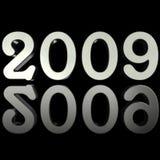 2009年反映银 向量例证