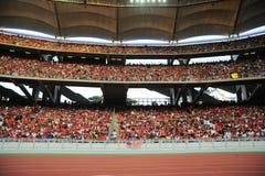 2009年团结的亚洲曼彻斯特浏览 库存图片