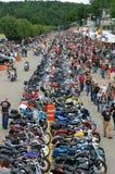 2009年拉哥尼亚摩托车星期 库存图片
