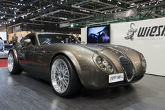 2009年日内瓦gt mf4马达wiessman跑车的显示 免版税库存图片