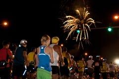 2009年檀香山马拉松 免版税图库摄影
