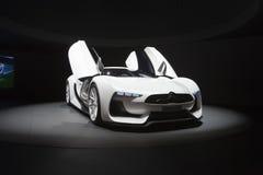 2009年汽车citroen概念日内瓦gt汽车展示会 免版税库存图片