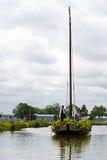 2009年浮动的花游行westland 免版税库存图片