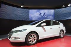 2009年清晰fcx日内瓦本田汽车展示会 库存照片