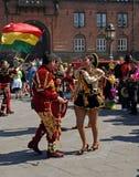 2009年狂欢节哥本哈根 库存图片