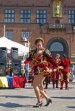 2009年狂欢节哥本哈根 库存照片