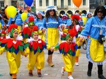 2009年狂欢节karnavali patra patrino 图库摄影