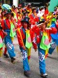 2009年狂欢节karnavali patra patrino 库存照片