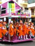 2009年狂欢节karnavali patra patrino 免版税库存图片