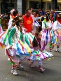 2009年狂欢节karnavali patra patrino 库存图片