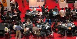 2009年竞争创建比赛新加坡 库存图片