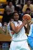 2009年篮球俄语妇女 库存照片