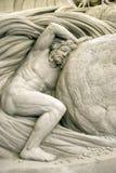 2009年节日国际沙子雕塑 免版税库存图片