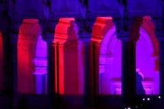 2009年节日点燃利昂 免版税库存图片