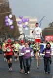 2009年马拉松巴黎 库存图片