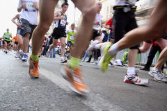 2009年马拉松巴黎 免版税库存照片