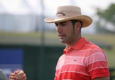 2009年alvaro法国高尔夫球开放quiros西班牙 图库摄影