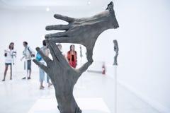 2009年art比安奈尔di exibithion venezia威尼斯 图库摄影