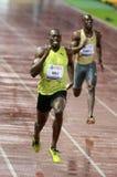 2009年athletissima螺栓 库存照片