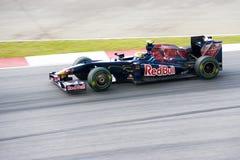 2009年buemi f1 ferrari赛跑sebastien str 库存照片