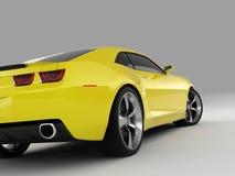 2009年camaro薛佛列汽车概念 免版税库存图片