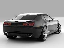2009年camaro薛佛列汽车概念 免版税图库摄影