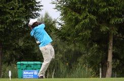 2009年de golf los prevens桑托斯trpohee 库存照片