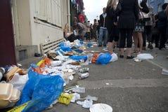 2009年notting狂欢节的小山 库存图片